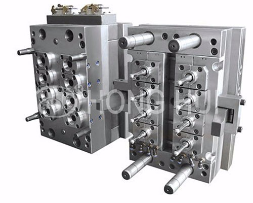 8 cavities justable self lock pneumatic valve-type preform mould-2